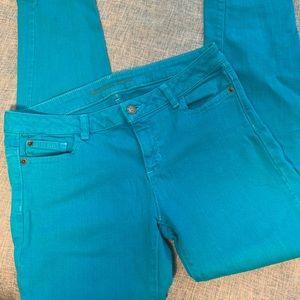 Michael Kors Teal Jeans